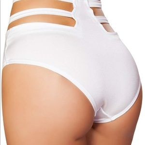 Roma White Rave Bottoms